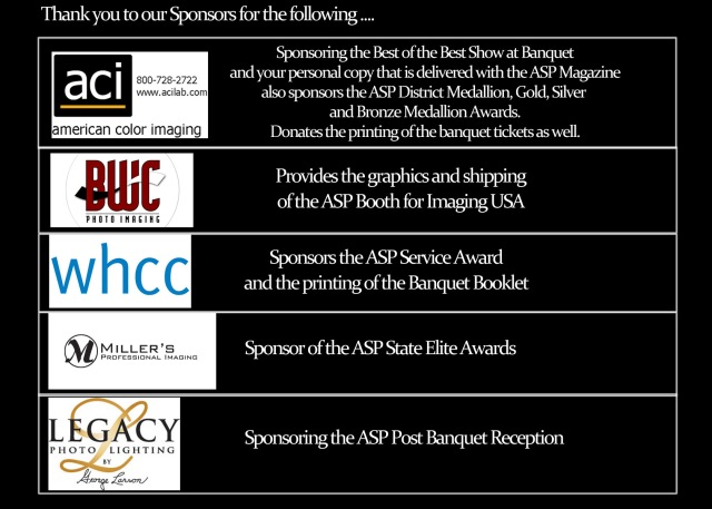 ASP Sponsors for Blog page